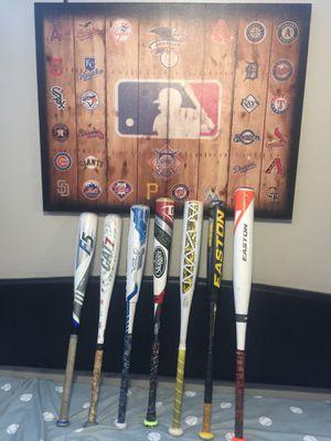 Baseball bats usssa for Sale in San Tan Valley, AZ