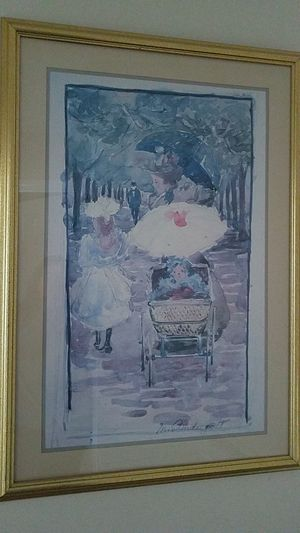 Beautiful painting wih a really nice frame for Sale in Leesburg, VA
