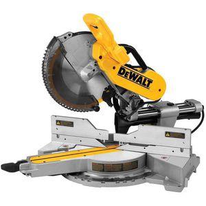 DEWALT DWS709 15 Amp 12 in. Dual Bevel Sliding Compound Miter Saw for Sale in Annandale, VA