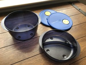 Brand New Tupperware Brand Set of 3 Containers/Storage for Sale in Cedar Park, TX