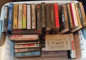 Cassette Tapes Black Sabbath Clash Doors Nine Inch Nails for Sale in San Marcos, TX