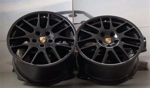 "20"" Porsche Panamera OEM Black wheels / rims for Sale in Huntington Beach, CA"