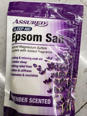 Brand:Assured- Relaxing Lavendar Scented Epsom for Sale in Nashville, TN
