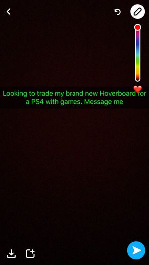 Looking to trade my brand new Hoverboard for a PS4 with games message me for Sale in Cleveland, OH
