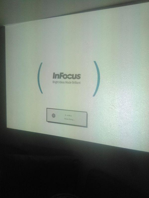Infocus HDMI projector