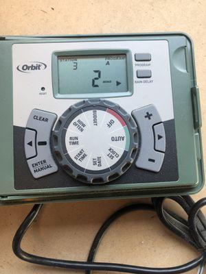 Orbit 6 station sprinkler timer like new for Sale in San Diego, CA