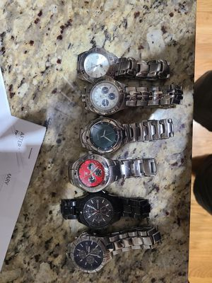 Fossil Watch Collection- $50 for all! for Sale in Chicago, IL