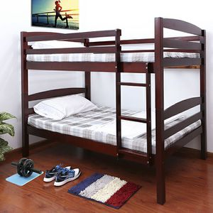 Brand New Cherry wood twin/twin bunk bed for Sale in Phoenix, AZ