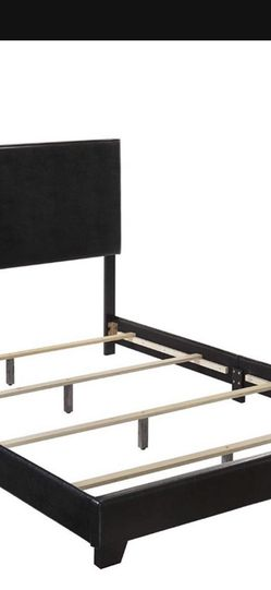 ⭐️New Crown Mark Upholstered Panel Bed In Black(QUEEN) P/U By ASHLAN AND TEMPERANCE IN CLOVIS for Sale in Fresno,  CA