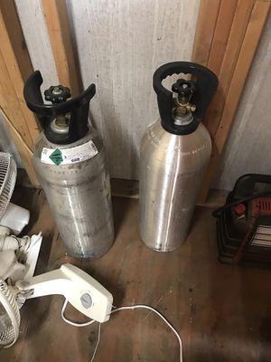 2 - 20 lb CO2 Tanks for Sale in Brier, WA