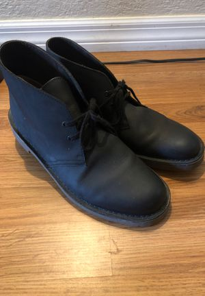 Clark's black leather boots for Sale in Orlando, FL