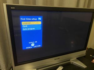 "42"" Panasonic Plasma TV for Sale in Tacoma, WA"
