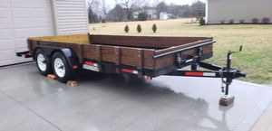 16 foot Sure-Trac Dual Axle Car Hauler Trailer for Sale in Columbus, OH