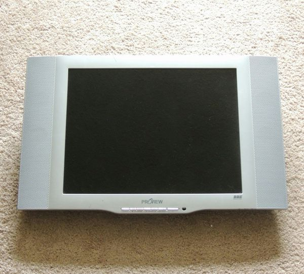 19 inch computer monitor, TV, screen