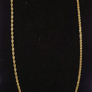 10k Gold Hollow Rope Chain for Sale in North Las Vegas, NV