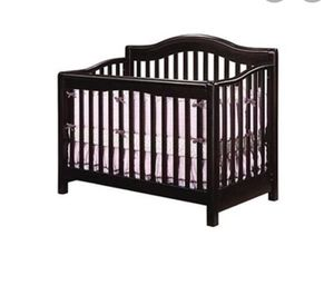 Espresso 4 in 1 wood CRIB for Sale in Apple Valley, CA