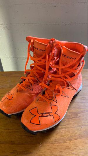Boys football cleats size 3.5 for Sale in East Wenatchee, WA