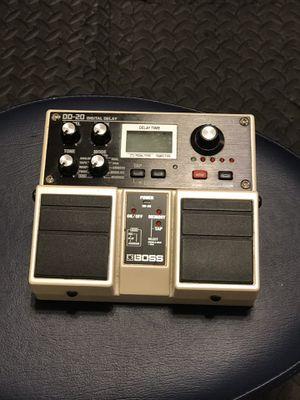 Boss DD20, digital delay f.back, giga delay for Sale in Virginia Beach, VA
