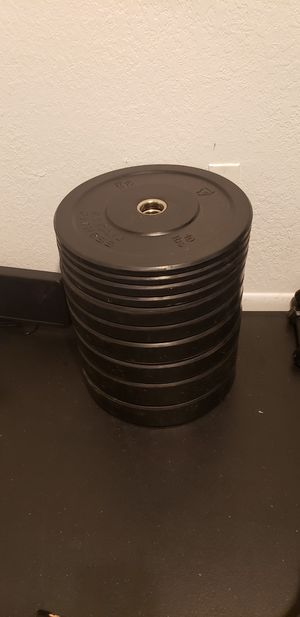 Titan Fitness | Bumper Plates | 260 Pounds for Sale in Three Lakes, FL