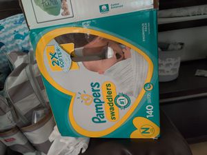 Pampers newborn diapers for Sale in San Antonio, TX