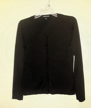 Black button up cardigan by August Silk size large for Sale in Tampa, FL