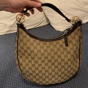Authentic Gucci Monogram Hobo Bag for Sale in Las Vegas, NV