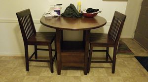 Kitchen table and 2 chair's for Sale in Wood River, IL