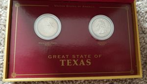 Tx d&p quarter coin display for Sale in Tuscola, TX
