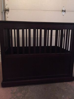 Wooden dog crate 34 1/2 tall x 29 1/2 tall for Sale in Saginaw, MI