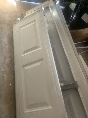 Large garage door: 9x7 and bolts etc for Sale in St. Petersburg, FL