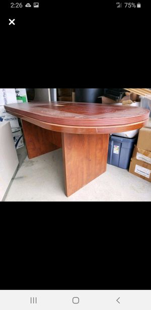 Conference table, chairs etc.... for Sale in Draper, UT