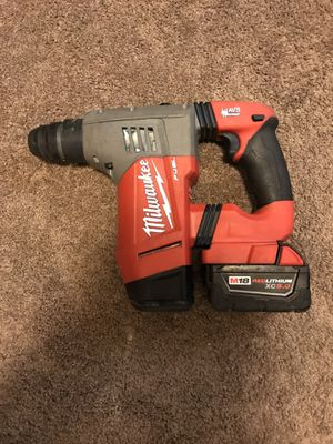 Milwaukee m18 fuel rotary hammer for Sale in Tacoma, WA
