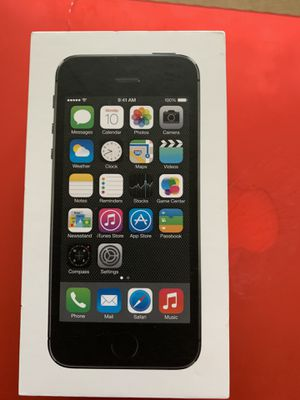 Apple iPhone 5 S - 32 GB - Space Grey for Sale in Hightstown, NJ