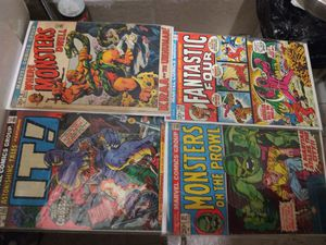 Marvel comics. 1972 four pack for Sale in Los Angeles, CA