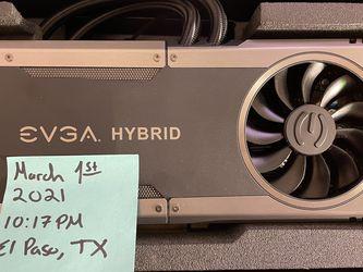 EVGA FTW Hybrid GTX 1080 (Watercooled) 8GB GDDR5 for Sale in El Paso,  TX