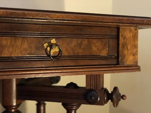Nana's 1920 Antique Handcrafted Wood Desk for Sale in Los Angeles, CA