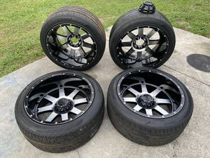22x12 gear big block wheels 6 lug for Sale in Riverview, FL
