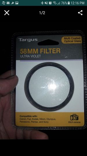 dslr camera lens for Sale in Sacramento, CA