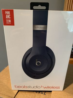 Beats by Dre Studio 3 wireless new in box for Sale in Mercer Island, WA