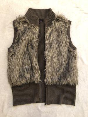 Faux Fur Sweater Vest for Sale in Tampa, FL