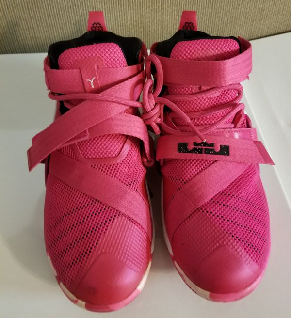 Lebron James breast cancer awareness sneakers