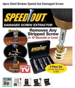 4pcs Steel Broken Speed Out Damaged Screw for Sale in Philadelphia, PA