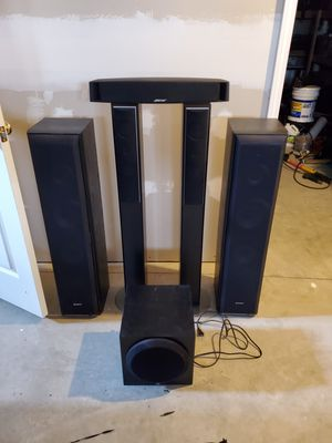 Sony receiver and surround sound speakers: Bose & Yamaha for Sale in Barnhart, MO