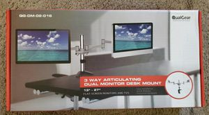 3 ways articulating dual monitor desk mount for Sale in Bladensburg, MD