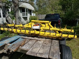 Big cutter and trailer . Both for $2800 ,call. {contact info removed}. James for Sale in Jacksonville, FL