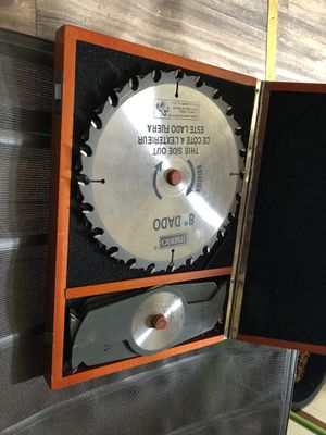 "8"" dado table saw blades for Sale in Columbus, OH"