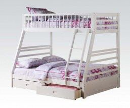 Twin over full bunk bed no mattress for Sale in Miami, FL
