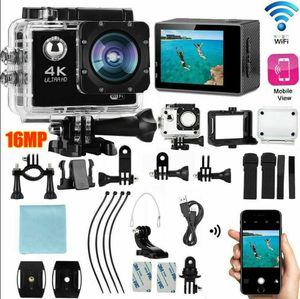 4K wifi sports camera with all accessories for Sale in Odessa, TX