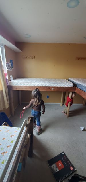 Raised twin beds for Sale in Littleton, CO