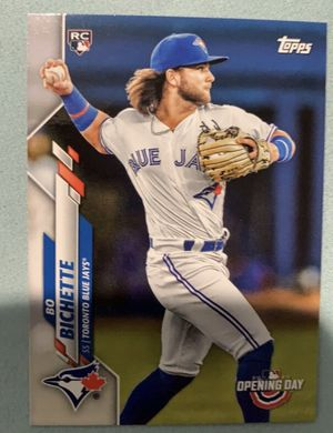 BO BICHETTE OPENING DAY ROOKIE CARD! BRAND NEW for Sale in Canton, GA